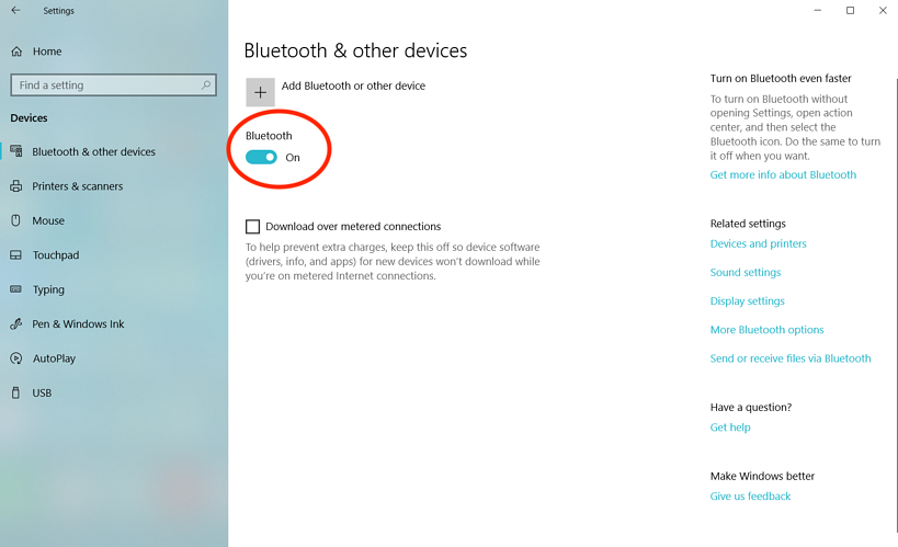 How to Turn on Bluetooth on Windows 10 (+ Solutions if