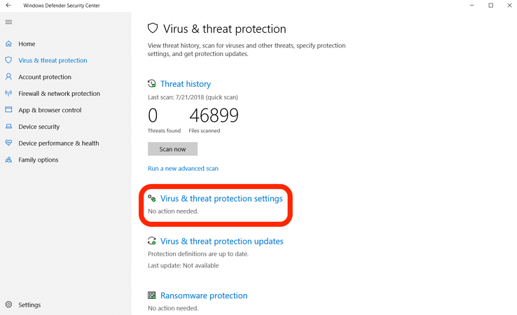 How to Turn Off Windows Defender (Temporarily and Permanently)