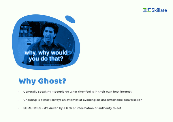 why do people ghost
