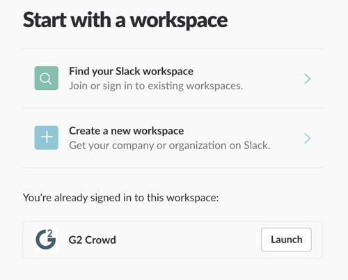Slack-workspace