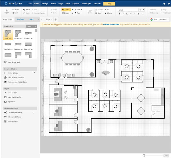 11 best free floor plan software tools in 2019 - Free floor plan software ...