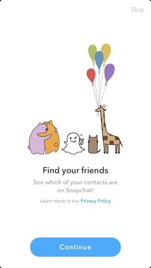 Snapchat invite friends
