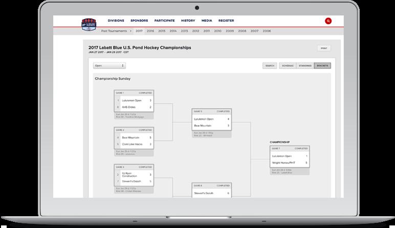 sports engine best sports league management software