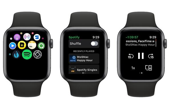 Spotify for Apple Watch app