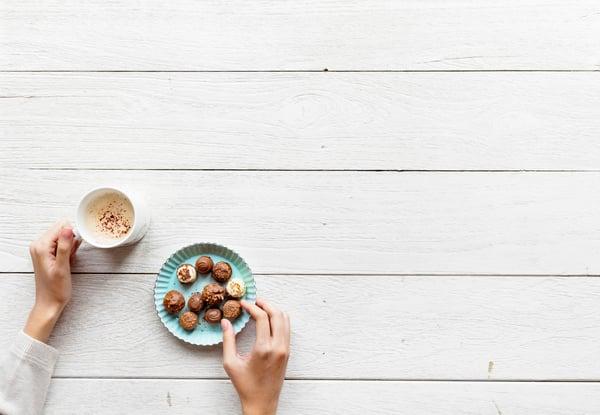 Stocksnap.io free stock photo of coffee and chocolate truffles