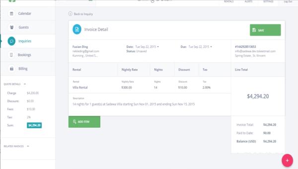Tokeet vacation rental software