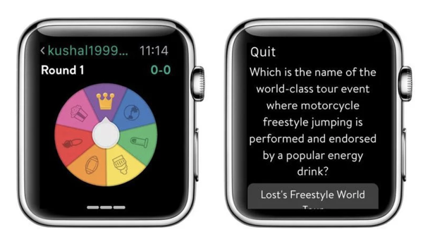 Trivia crack apple watch app