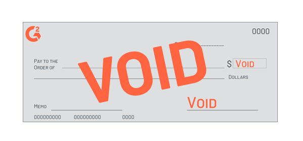 How to Write a Void Check