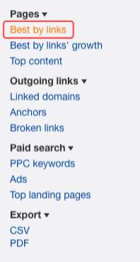 best-by links Ahrefs