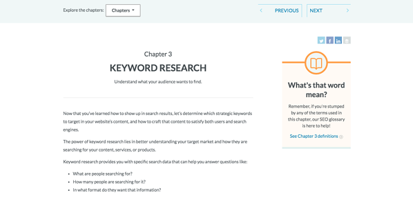 kw research moz
