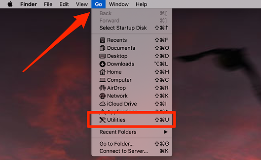 Utilities on Mac