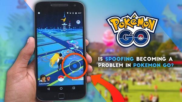 Spoofing in Pokemon Go