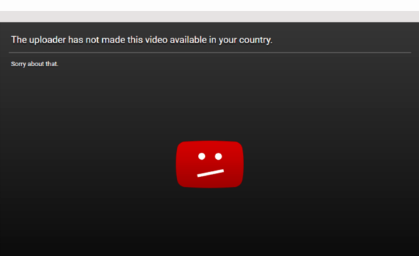 How to view blocked Youtube videos