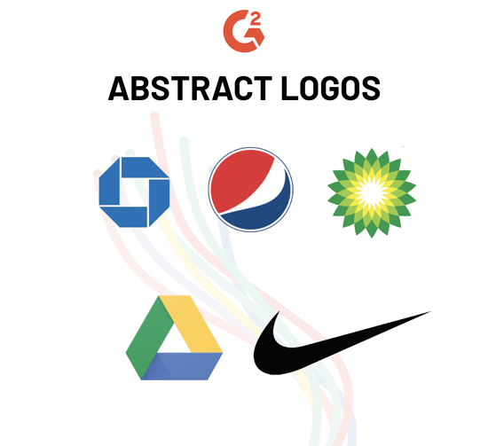 abstract logo examples