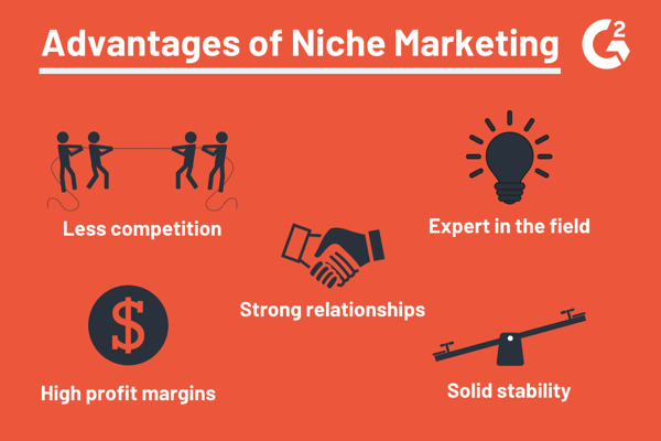 advantages of niche marketing