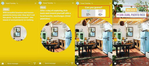 airbnb instagram stories marketing