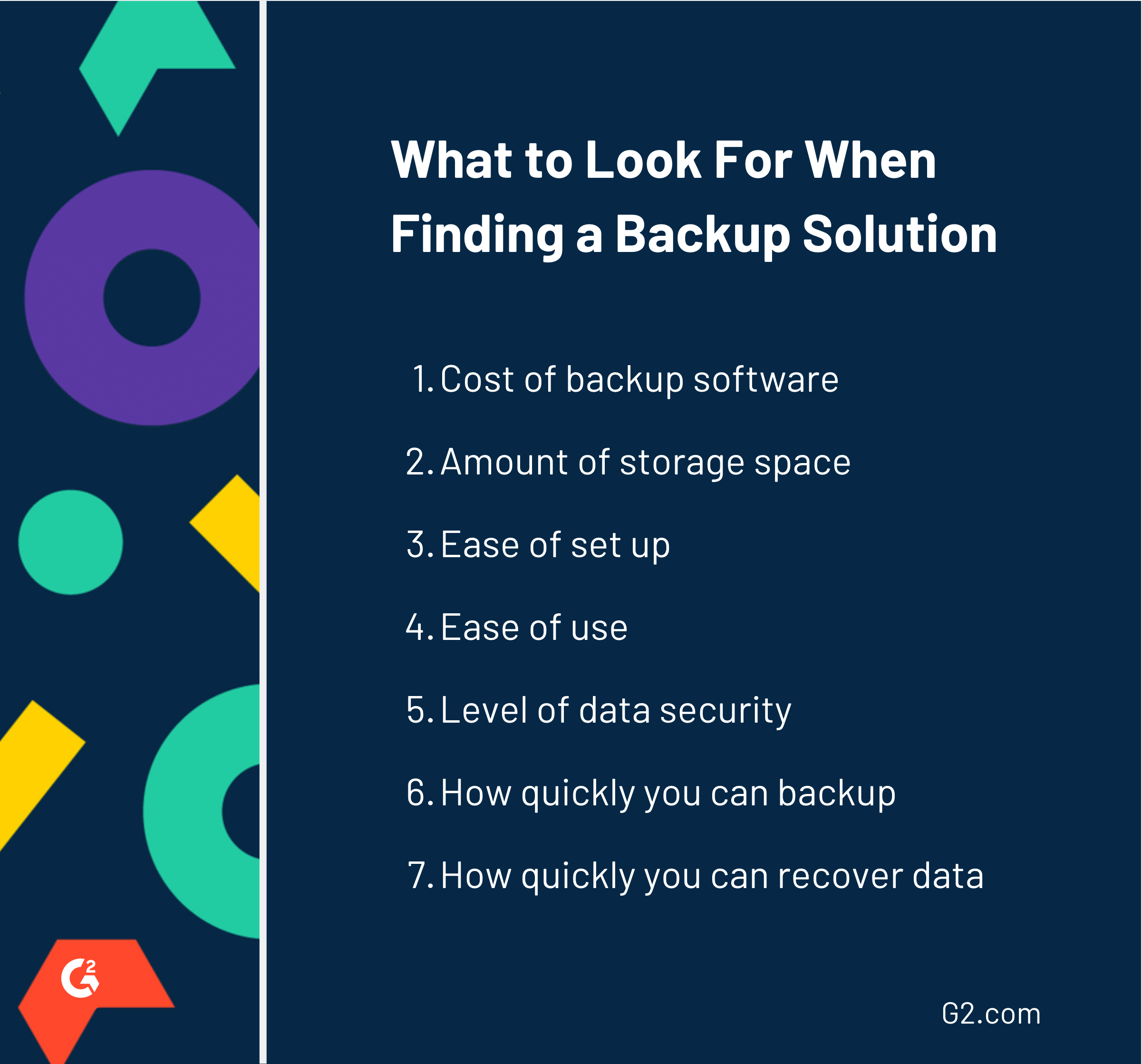 backup software options