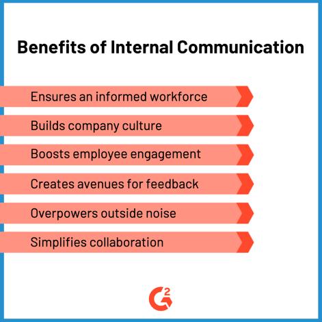 benefits of internal communication