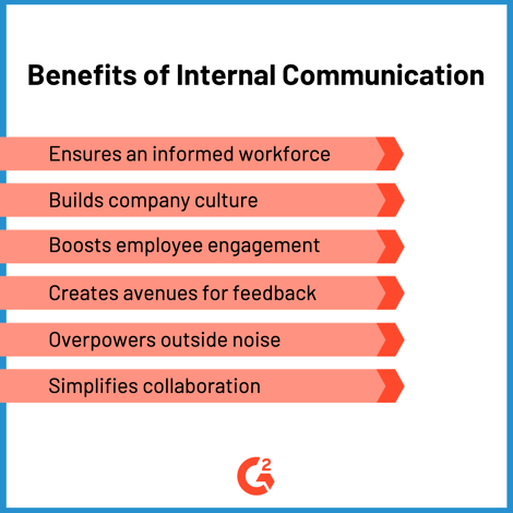 benefits of internal communication