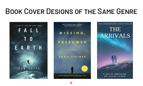 book cover design similarities