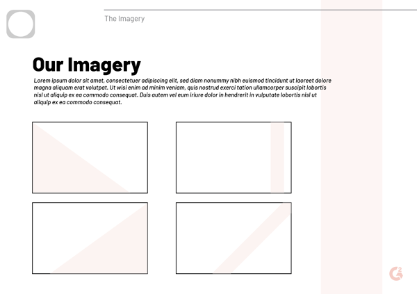 brand style guide imagery