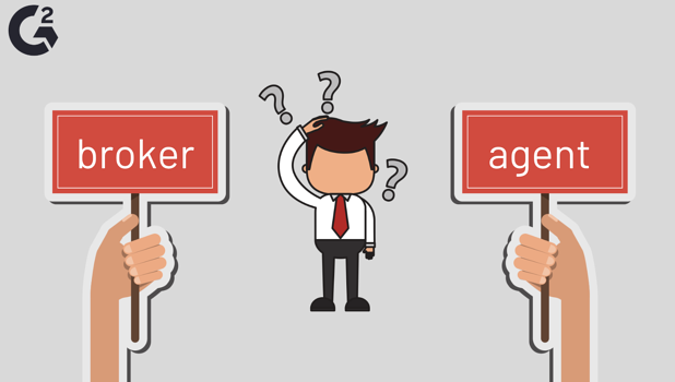 difference between real estate broker vs agent