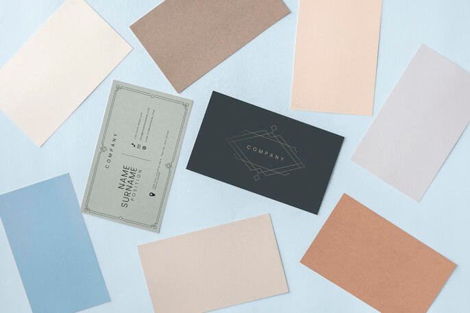 Business Card Design: Essential Elements + Examples
