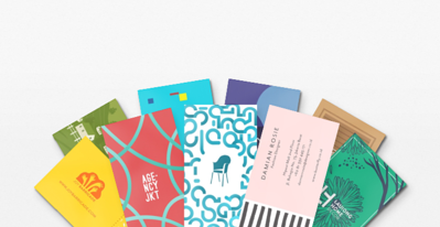 business card color choice