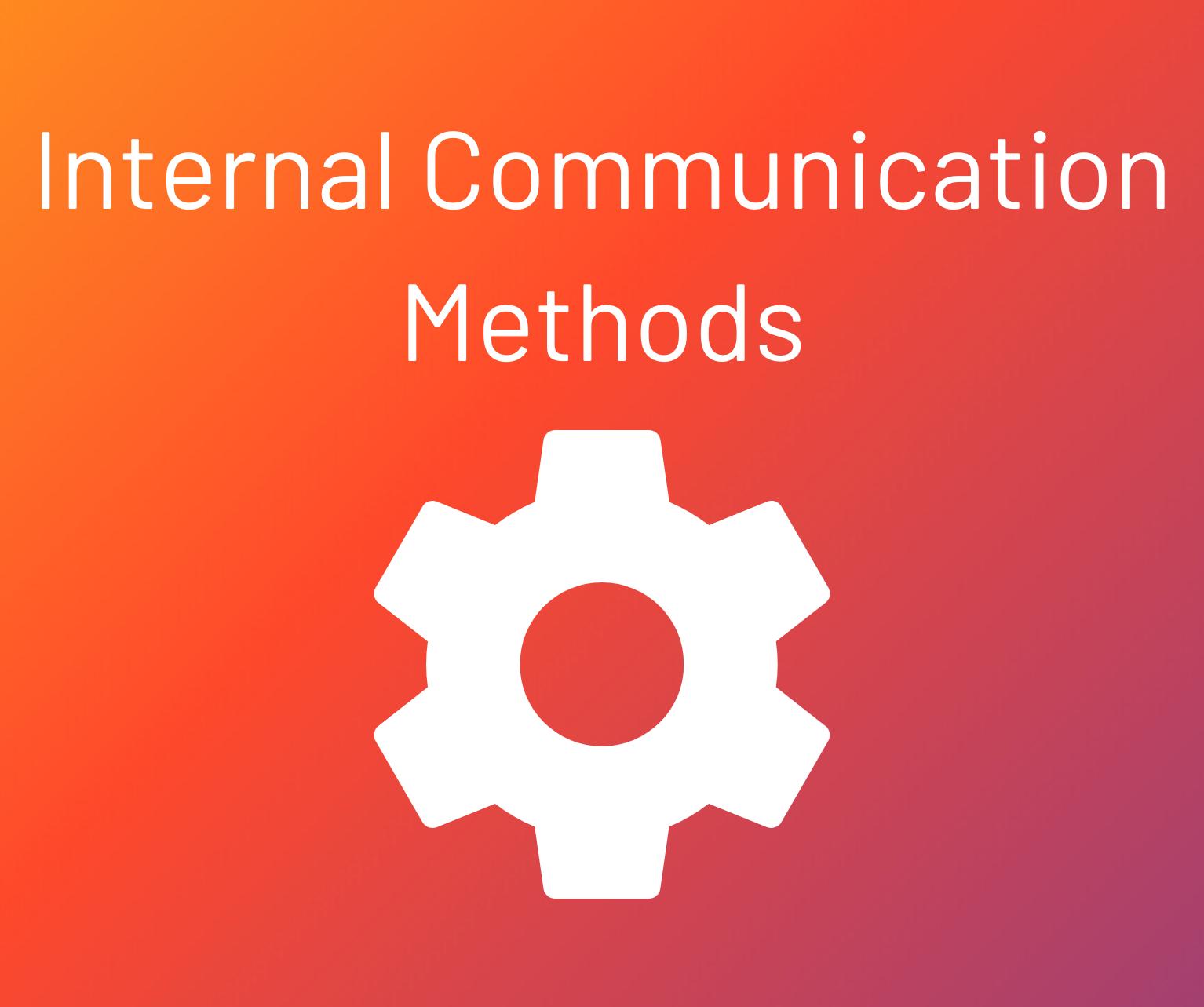 internal communication methods