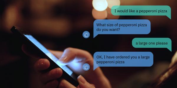 chatbot conversation image
