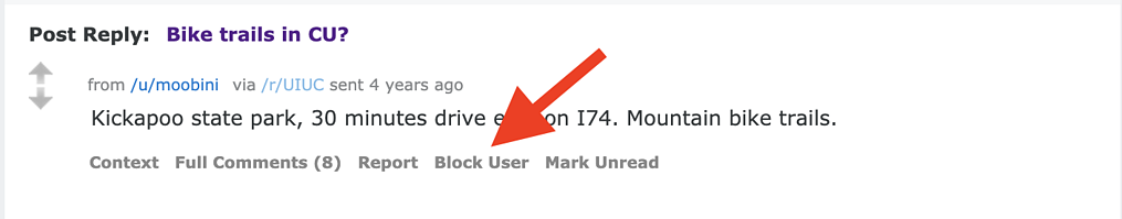 block user reddit