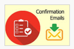 confirmation emails set up on google forms