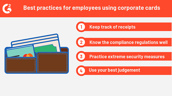 corporate credit cards best practices for employees