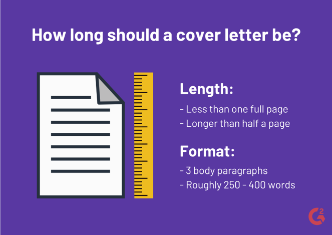 How Long Should A Cover Letter Be Formatting Tips