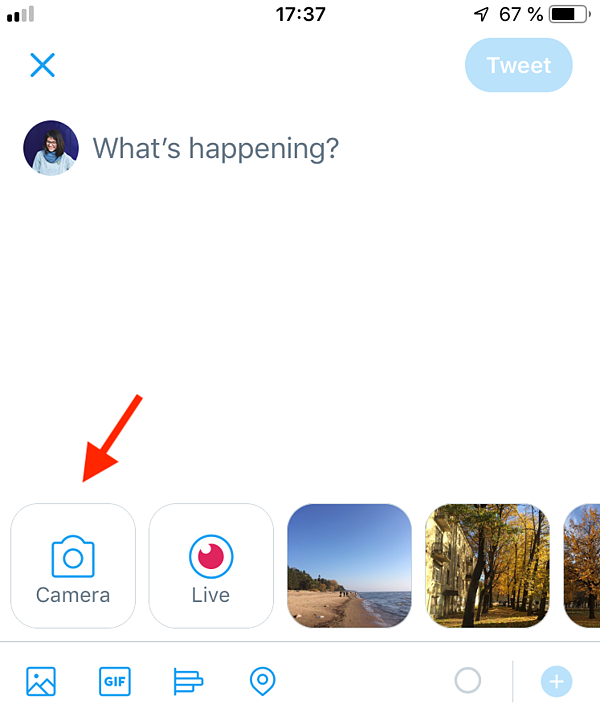 create and post video in app