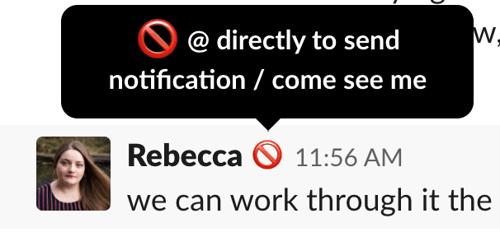 create a custom Slack status