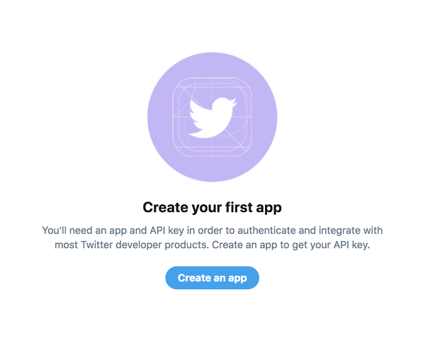 create-twitter-app