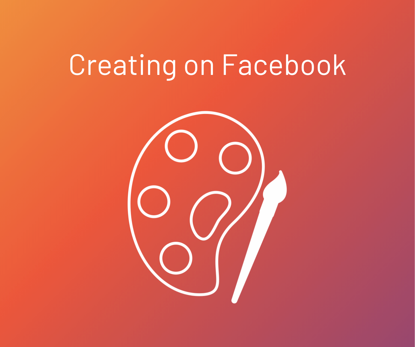 creating on facebook