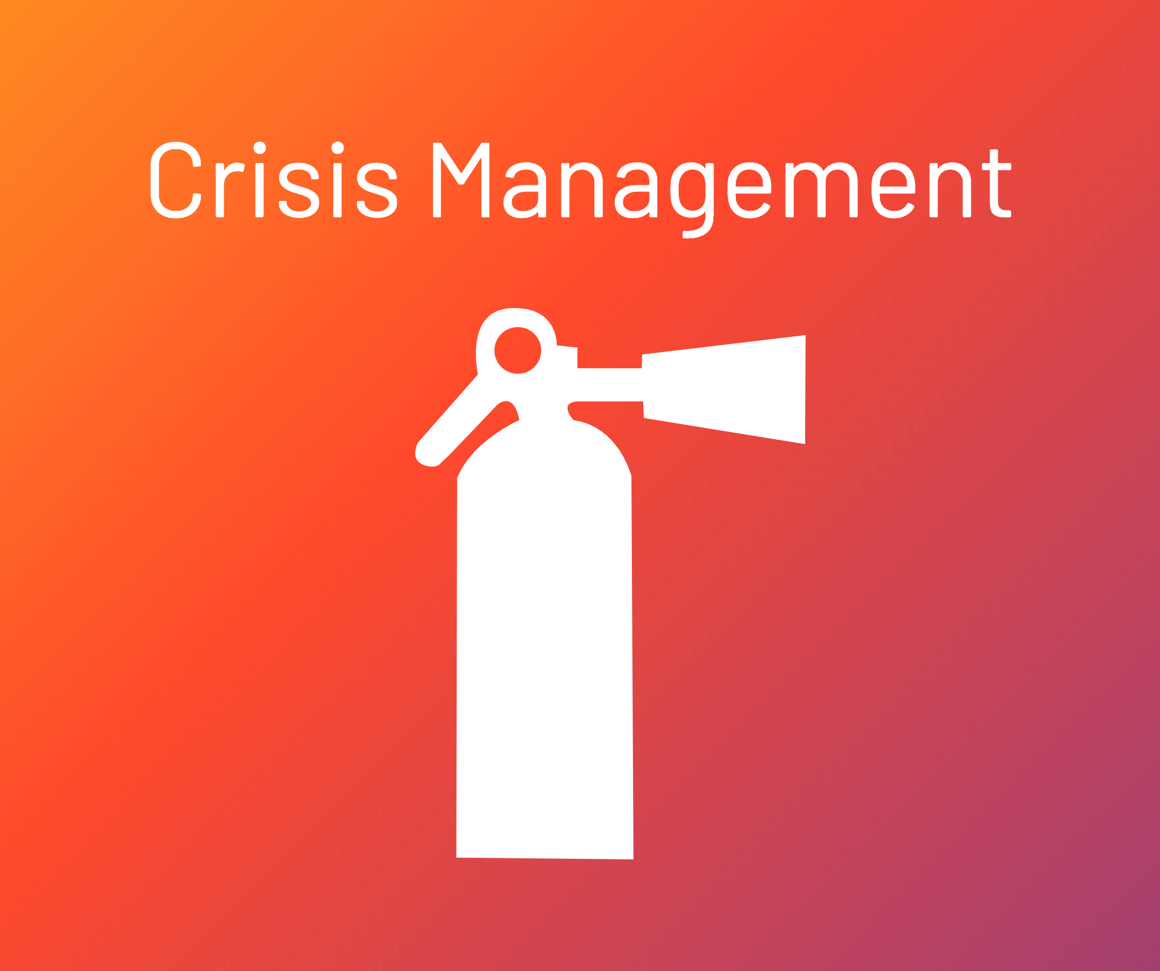 crisis management in PR