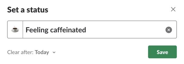 custom-slack-status