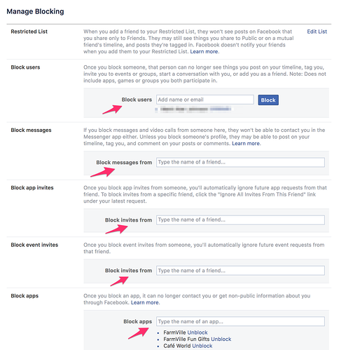 how to block someone on facebook desktop 4