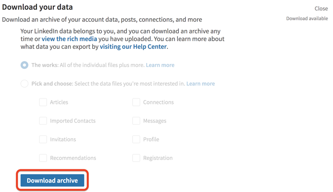 How to Export LinkedIn Contacts and What to Do With the Data