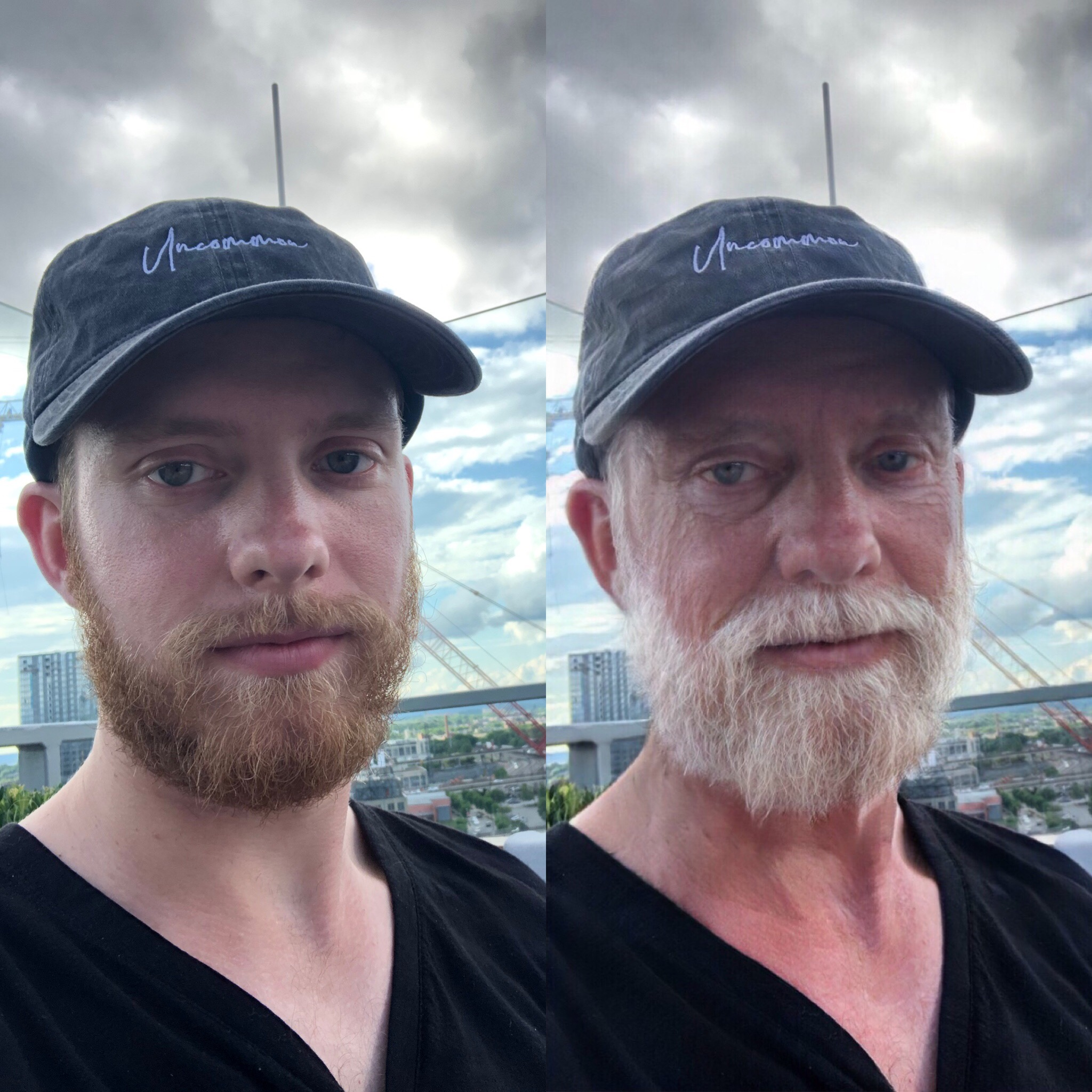 FaceApp's old age filter