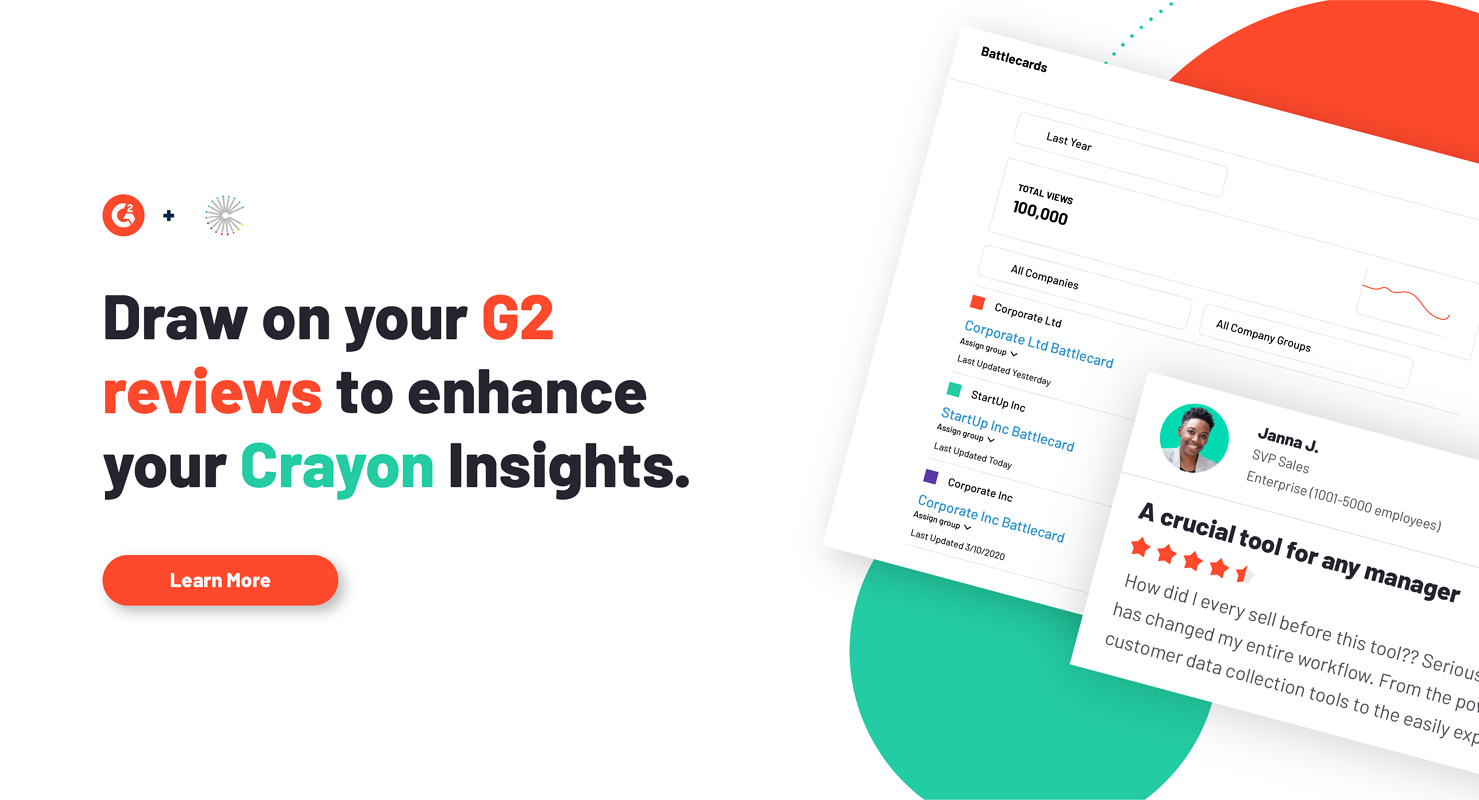 G2 Announces Syndication Partnership With Crayon
