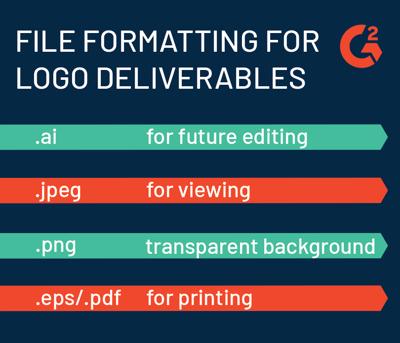 file formatting for logos