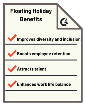 floating holiday benefits