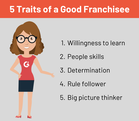 franchisee qualities