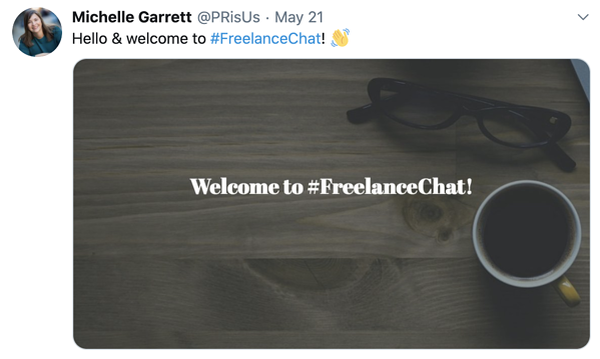 #freelancechat example