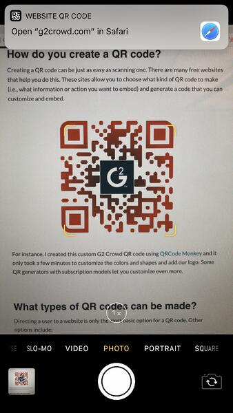 How to Scan a QR Code (on iPhone and Android) Without