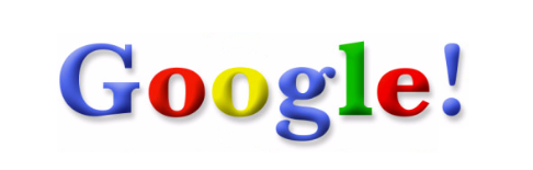 google logo exclamation mark